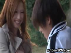 Ai Sayama Japanese babe has...