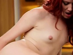 bewitching masturbation in...